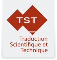 TST – Traduction Scientifique et Technique Mobile Logo